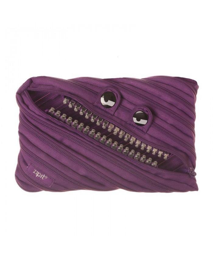 ZIPIT 鋼牙怪獸拉鍊包  壞壞紫